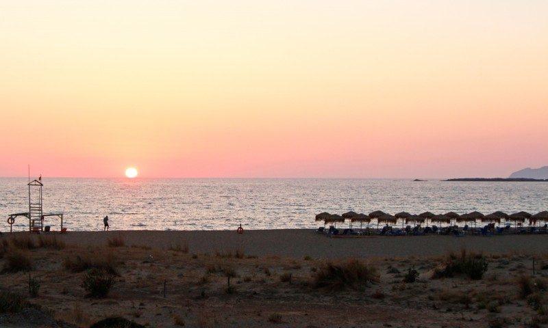 sunset+falassarna