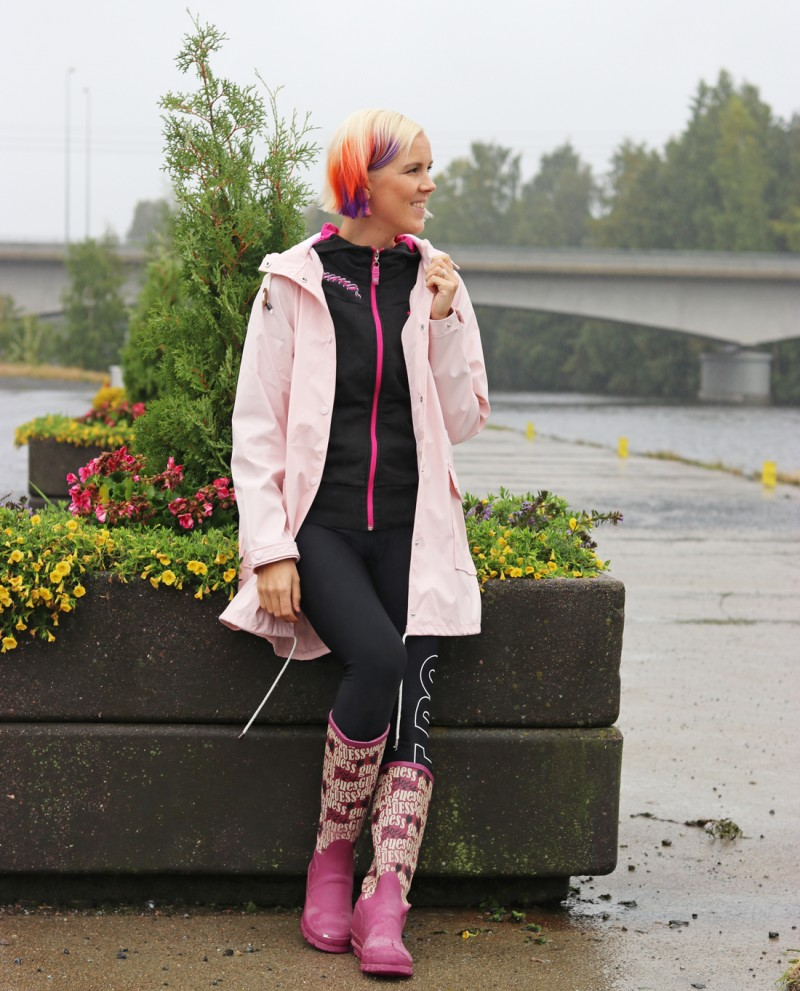 vila+raincoat+guess+rainboot
