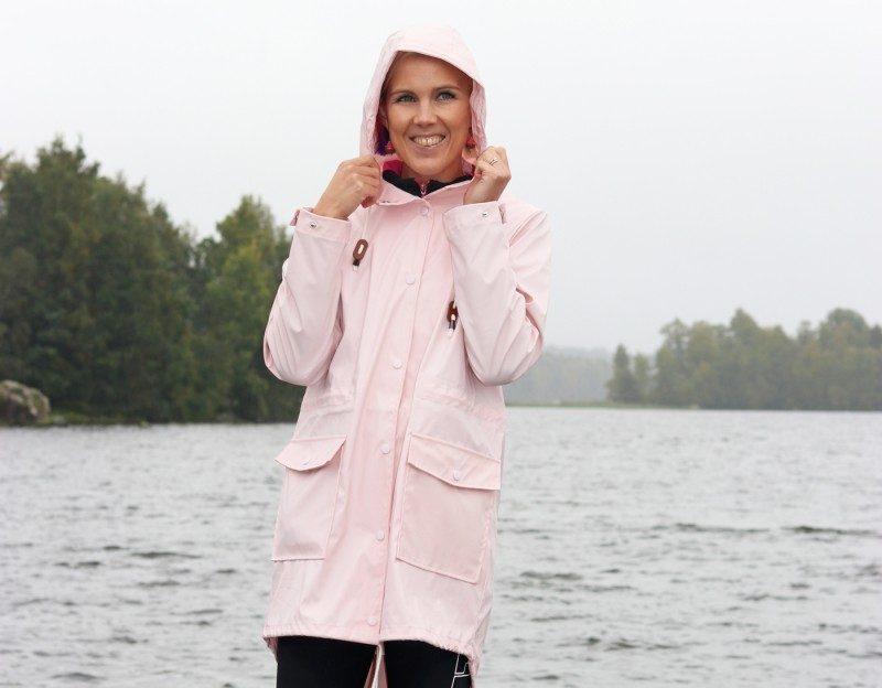 vila+sadetakki+vaaleanpunainen