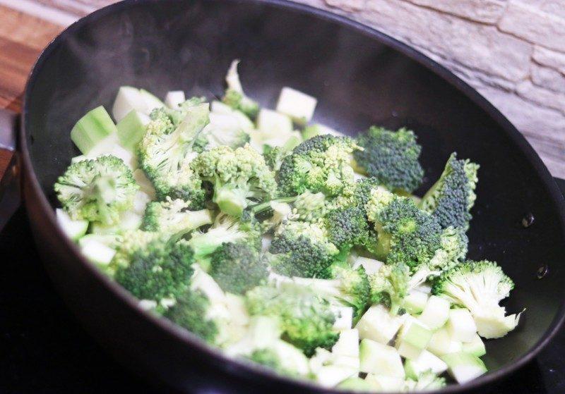 parsakaali+salad